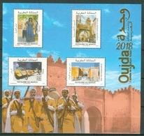 MOROCCO MAROC MAROKKO B.F OUJDA CAPITALE DE LA CULTURE 2018 - Morocco (1956-...)