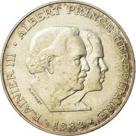 Monnaie, Monaco, Rainier III, 100 Francs, 1982, SUP, Argent, Gadoury:MC163 - 1960-2001 Nouveaux Francs