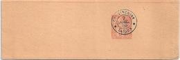 FRANCE COLONIES COCHINCHINE Bande Pour Journaux Saigon 1889 - Entiers Postaux