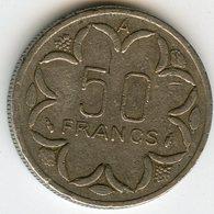 Afrique Centrale Central African States Banque Des Etats 50 Francs 1980 A Tchad KM 11 - Monedas