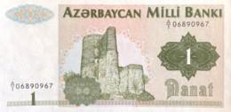 Azerbaijan 1 Manat, P-11 (1992) - UNC - Arzerbaiyán