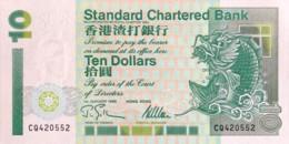 Hong Kong 10 Dollars, P-284b (1.1.1995) - UNC - Hong Kong