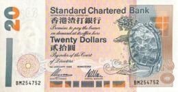 Hong Kong 20 Dollars, P-285b (1.1.1996) - UNC - Hong Kong