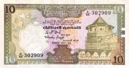 Sri Lanka 10 Rupees, P-92b (1.1.1985) - UNC - Sri Lanka