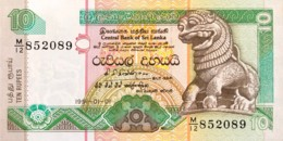 Sri Lanka 10 Rupees, P-102a (1.1.1991) - UNC - Sri Lanka