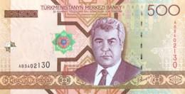 Turkmenistan 500 Manat, P-19 (2005) - UNC - Turkmenistan