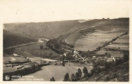 VRESSE S/SEMOIS - Panorama Vers Membre - Oblitération De 1939 - Edit. : Chaidron-Guisset, A La Glycine, Vresse S/Semois - Vresse-sur-Semois