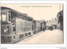 CPA 91 Longjumeau La Gare Du Tramway Ligne De Paris Arpajon - Longjumeau