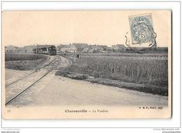 CPA 45 Charsonville La Vendrée Et Le Train Tramway Ligne De Blois St Lazare Orleans - Otros Municipios