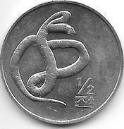 *Korea N  1/2 Chon 2002  Km 188  Unc - Korea, South