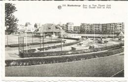 BLANKENBERGE - Parc Et Tom Thumb Golf - Oblitération De 1953 - Blankenberge