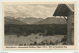 AK  Mittelberg Im Allgäu Tannheimer Berge - Mittelberg