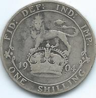 United Kingdom / Great Britain - 1904 - 1 Shilling - Edward VII - KM800 - 1816-1901: 19. Jh.