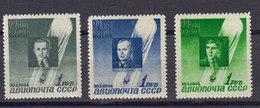 Russie URSS 1944 Poste Aerienne Yvert 67 / 69 ** Neufs Sans Charniere. Ascension Sirius. - 1923-1991 UdSSR