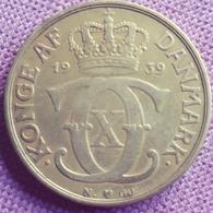 DENEMARKEN :  2 KRONER 1939 N KM 823.2 - Denmark