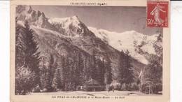 73 / LES PRAZ DE CHAMONIX ET LE MONT BLANC / LE GOLF - Chamonix-Mont-Blanc