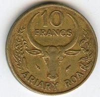 Madagascar 10 Francs Ariary 1988 FAO KM 11 - Madagascar
