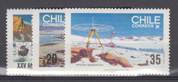 CHILI      1985      N °      699 / 701          COTE      3 € 50           (  Q 332 ) - Chile