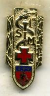Insigne, 1ére Section D Infirmier Militaire___drago - Medicina