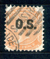 South Australia - Südaustralien 1874 - Michel Nr. Dienst 8 O - 1855-1912 South Australia