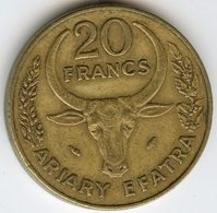 Madagascar 20 Francs Ariary 1981 FAO KM 12 - Madagascar