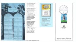 BICENTENAIRE DE LA REVOLUTION FRANCAISE 1789-1989: Encart D'Israël Avec Obl. De L'Exposition ''Philexfrance '89''  TTB - Franz. Revolution