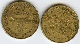 Madagascar 20 Francs Ariary 1989 FAO KM 12 - Madagascar