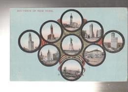 NEW YORK.VEDUTE DIVERSE-VIAGGIATA -VO-1930.FP-MT.4716 - Multi-vues, Vues Panoramiques