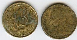 Madagascar 10 Francs 1953 KM 6 - Madagascar