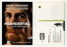 Musée De La Préhistoire à Grand-Pressigny. Expo 2015 Néandertal, Le Mystère Préhistorique. Inder Et Loire - Musées