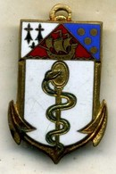 Insigne, CHA,centre Hospitalier Des Armées, CALMETTE___courtois - Medicina