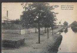 PK 7/   MOL GOMPEL   ZICHT OP DE VAART    1925 - Cartes Postales
