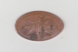 Pressed Pennie / Elongated Coin Drielandenpunt-dreiländerpunkt-aux Trois Bornes Vaals (NL) - Elongated Coins