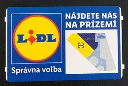 Slovakia, Bratislava, Parking Ticket For Lidl - Toegangskaarten