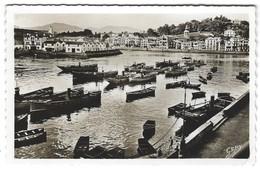 Saint-Jean-de-Luz - Vue Du Port Vers Ciboure - Bateaux - Saint Jean De Luz