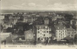 LUNÉVILLE - PANORAMA VERS LES CASERNES -  1919 - Luneville