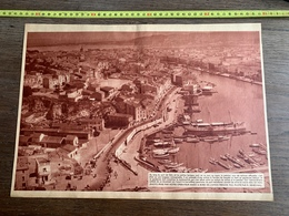 1936 M CYCLISME AU LONG DU PORT DE SETE - Unclassified