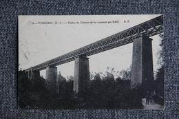 THOUARS - Viaduc Du Chemin De Fer Construit Par EIFFEL - Thouars