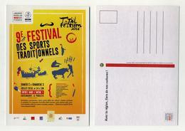 Total Festum 2016. 9ème Festival Des Sports Traditionnels. Castelnaudary, Aude, Occitanie - Demonstrationen