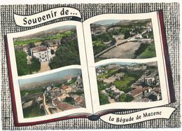 LA BEGUDE DE MAZENC - Souvenir De...Livre Ouvert - Autres Communes