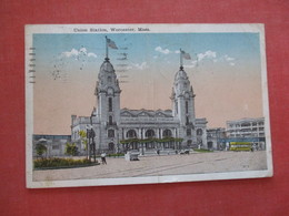 Union Train Station - Massachusetts > Worcester   > Ref 4068 - Worcester