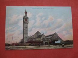 Tuck Series  Union Train Station - Massachusetts > Worcester   > Ref 4068 - Worcester