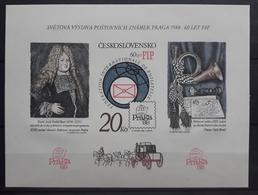 Tschechoslowakei 1986, Block 67B MNH Postfrisch - Tchécoslovaquie