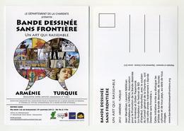 Charente, Le Département. Expo 2012. Angoulême. Bande Dessinée Sans Frontière. Arménie Turquie. Armenia Turkey. - Bandes Dessinées