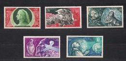 Monaco 1966 Yvertn° 683-687 *** MNH Cote 4,85 Euro Dante Alighieri - Monaco
