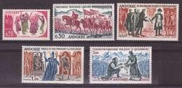 French Andorra, 1963 Folklore Nh Mint Set   -AM87 - Andorre Français