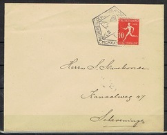 OLYMPIC FOOTBALL 1/4 FINALE ARGENTINE-BELGIQUE 6-3 LE 2 JUIN 1928 THEMATIC - Briefe U. Dokumente