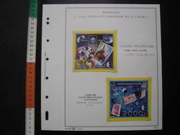 BLOC CNEP EUROPHILEX 2000 + SALON PHILATELIQUE Timbre FRANCE Stamp TIMBRES STAMPS - CNEP