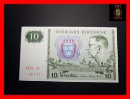 SWEDEN 10 Kronor 1979 P. 52 D XF- - Suecia