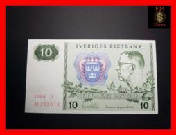 SWEDEN 10 Kronor 1980 P. 52   UNC- - Suecia